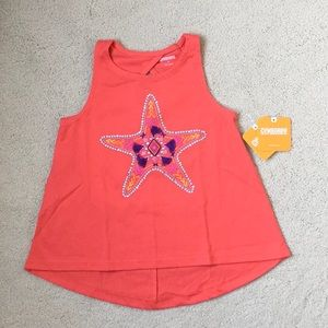 Girls Gymboree Embellished Star Tank NWT 4